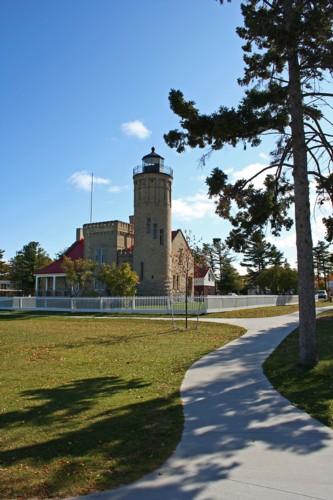 D-LH-267 - Old Mackinac Point Lighthouse. Mackinaw City, MI.