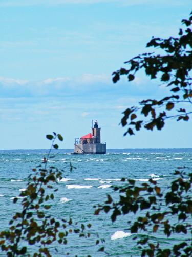 D-LH-335 - Reef Lighthouse. Port Austin, MI.