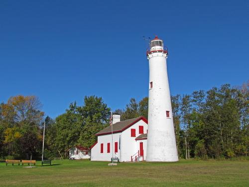 D-LH-456 - Sturgeon Point Lighthouse. Harrisville, MI.