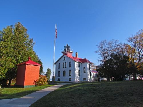 D-LH-491 - Grand Traverse Lighthouse. Leelanau State Park. Northport, MI.
