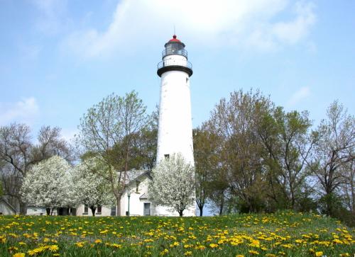 D-LH-52 - Pte. Aux Barques Lighthouse. Lighthouse County Park. Port Hope, MI.