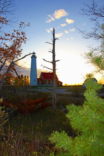 D-LH-541 - Tawas Point Lighthouse. Tawas State Park. Tawas City, MI.