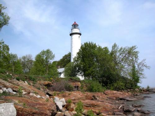 D-LH-61 - Pte. Aux Barques Lighthouse. Lighthouse County Park. Port Hope, MI.