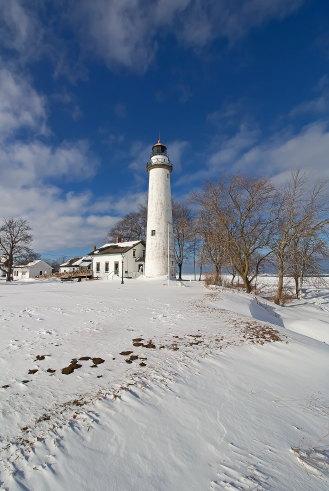 D-LH-683 - Pte. Aux Barques Lighthouse. Lighthouse County Park. Port Hope, MI.
