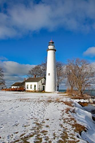 D-LH-795 - Pte. Aux Barques Lighthouse. Lighthouse County Park. Port Hope, MI.