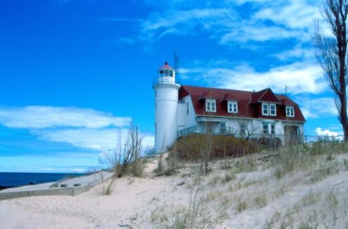 LH-3-18 - Pt. Betsie Lighthouse. Frankfort, MI.